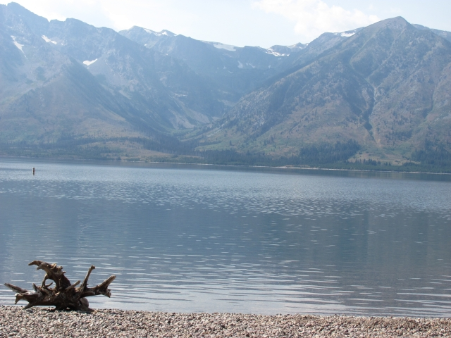 Jackson Lake in Grand Teton NP