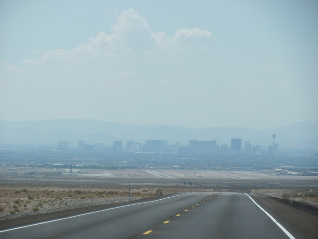 Heiïge skyline van Las Vegas