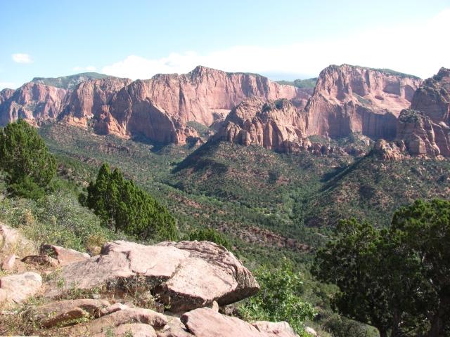 Uitzicht bij Timber Creek Trail