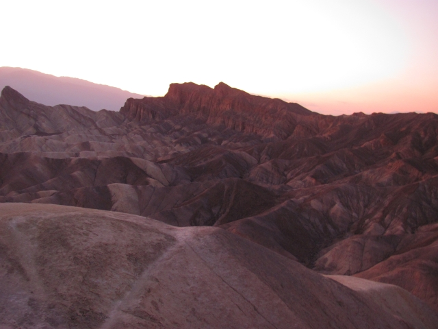 Zabriskie Point in DV