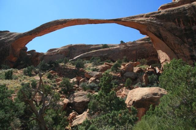 Landscape Arch, boegbeeld van Arches National Park